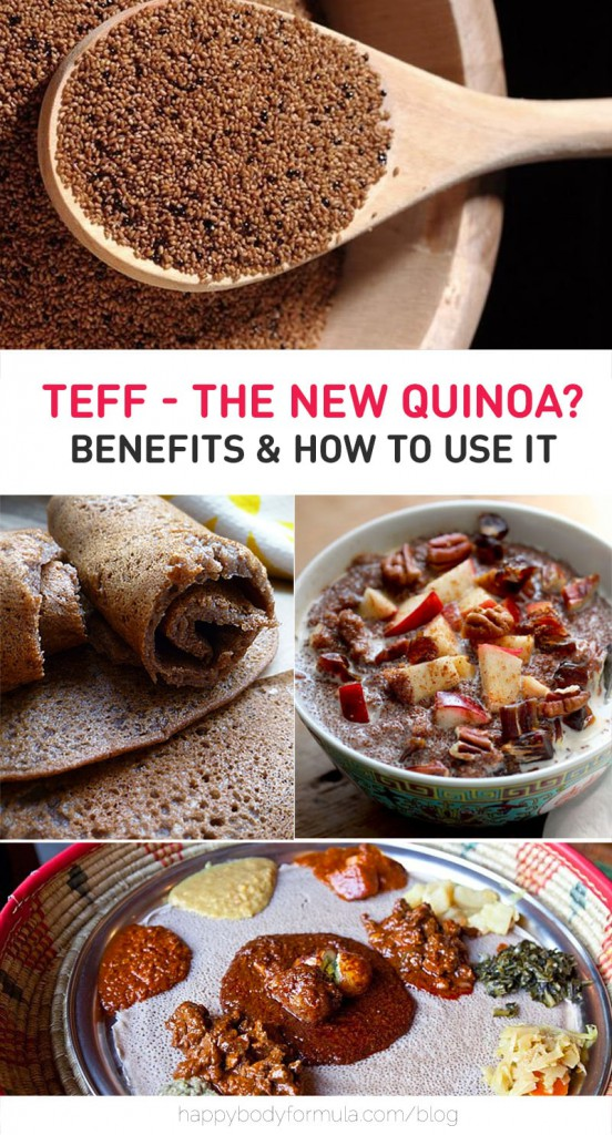 Teff Benefits - Nutrition, Recipes