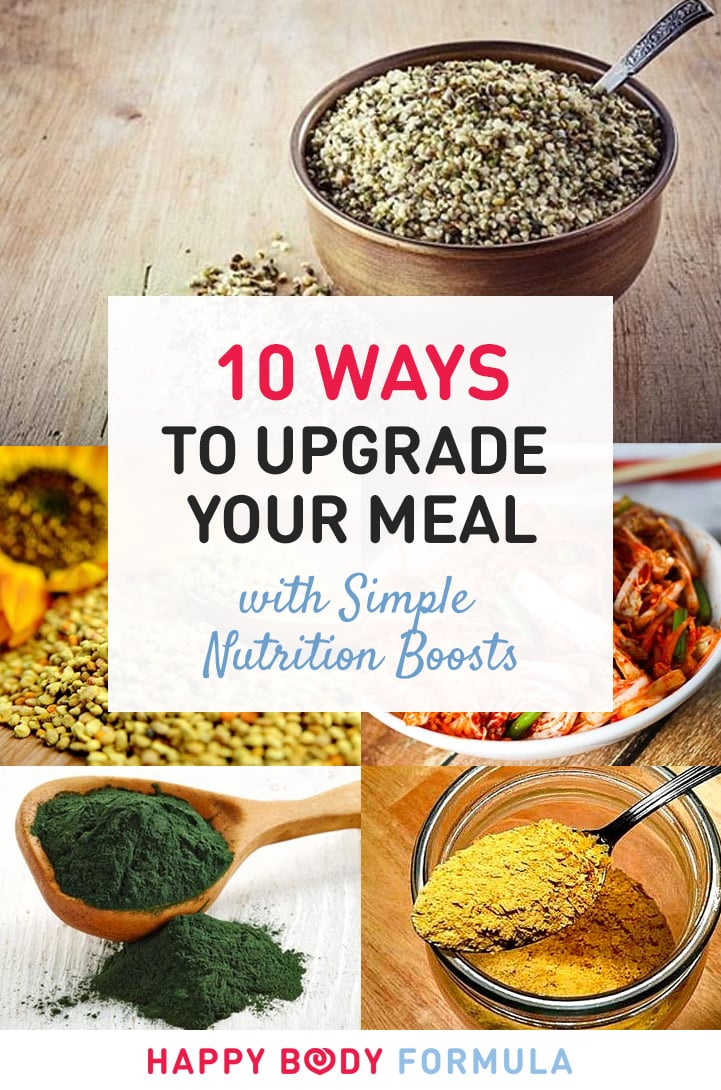 10 Superfood Upgrades to Max Out Nutrition in Every Meal | Happybodyformula.com