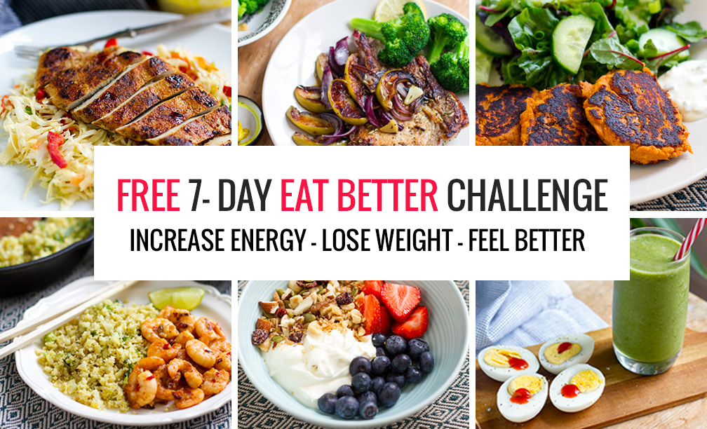 7-Day Eat Better Challenge Banner