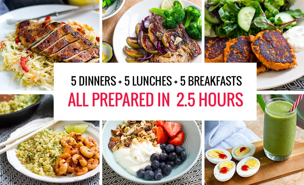 FREE Make Ahead Clean Eating 7-Day Meal Plan