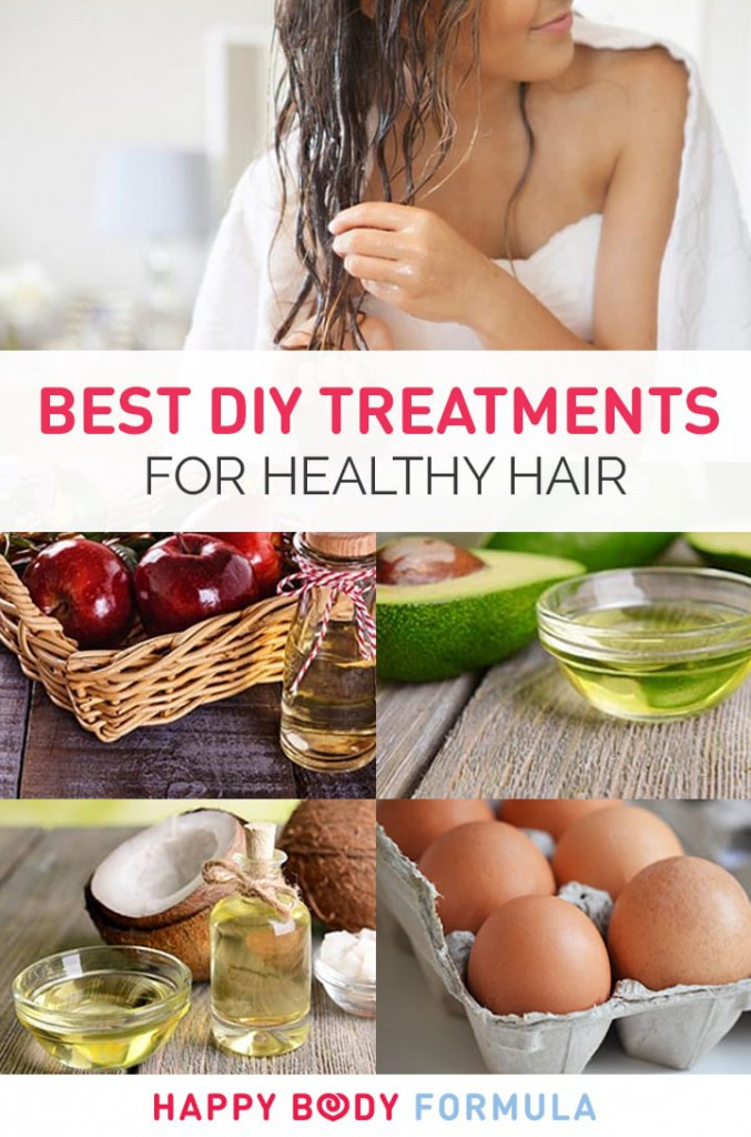 Best DIY Natural Treatments For Healthy Hair