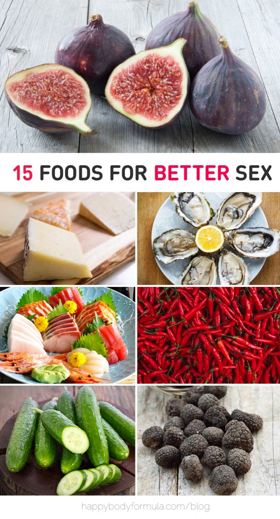 15 Tops Foods For Better Sex (And Healthy Libido) - Stock up ladies & gentlemen