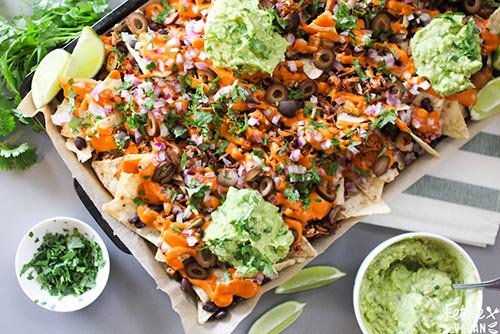 jackfruit nachos recipe