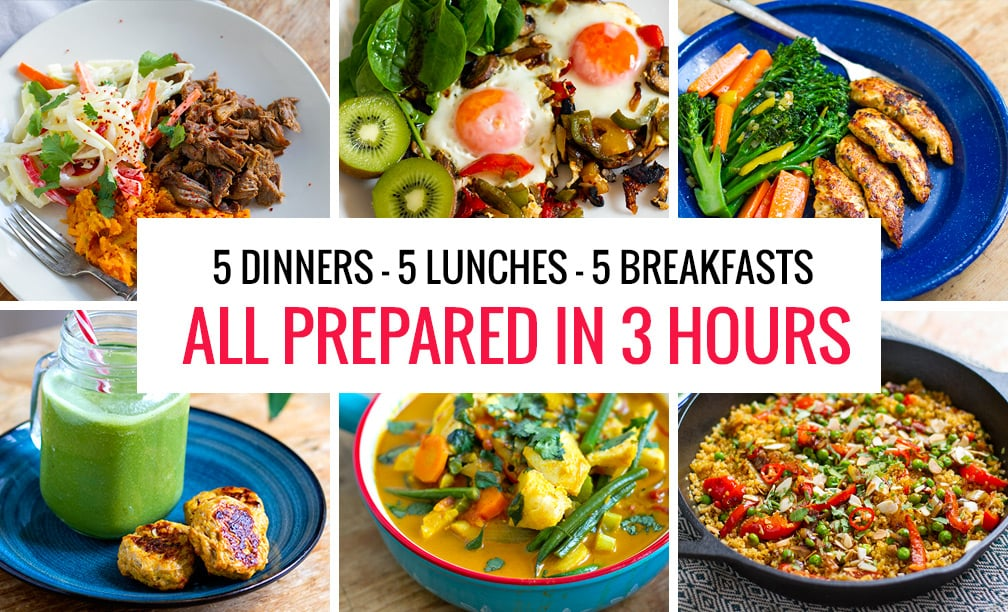 7 day paleo meal plan make ahead