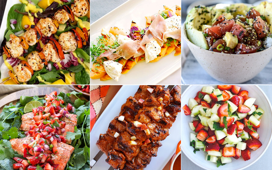 20 Amazing Healthy Summer Meals