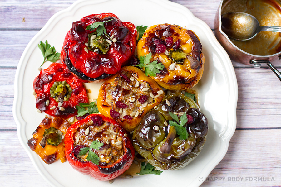 Por Mince Recipes - Stuffed Peppers