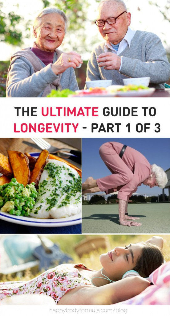 The Ultimate Guide To Longevity - Part 1 of 3 - Discover best anti-aging tips and secrets to living longer