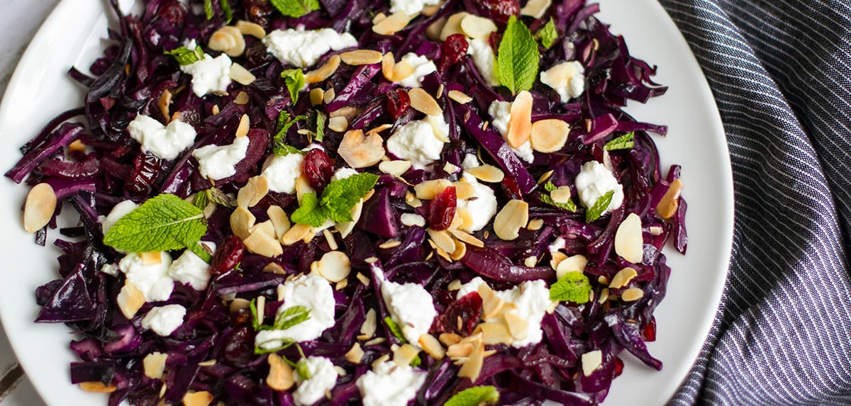 quick red cabbage recipe social