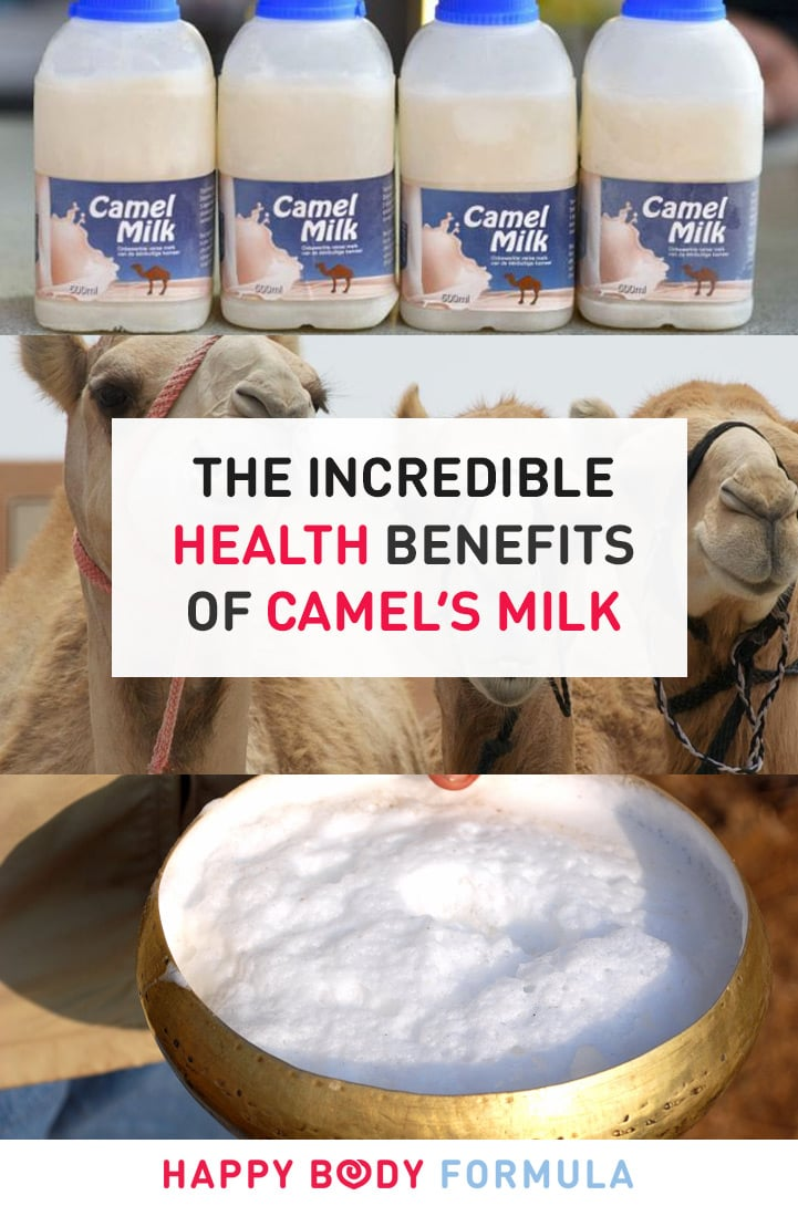 6 Incredible & Surprising Health Benefits of Camel's Milk | HappyBodyFormula.com