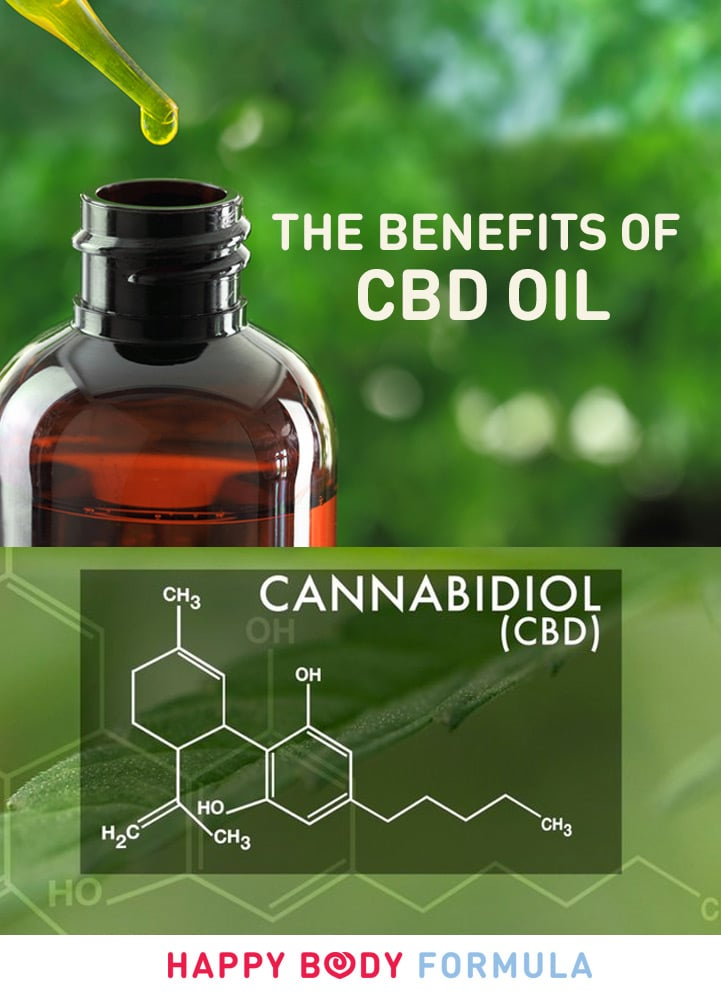 The Benefits of CBD Oil - Happy Body Formula