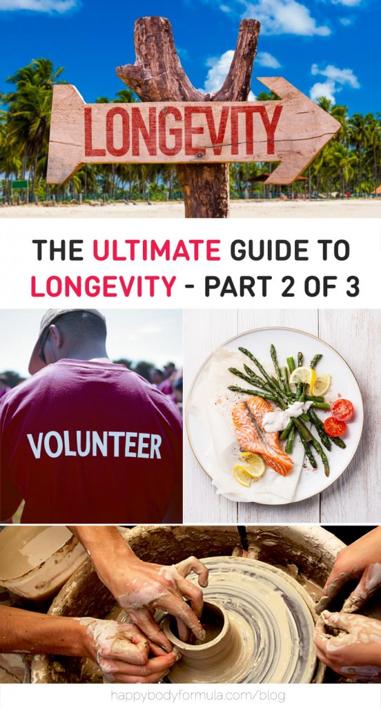 The Ultimate Guide To Longevity - Part 2 of 3 - Discover best anti-aging tips and secrets to living longer