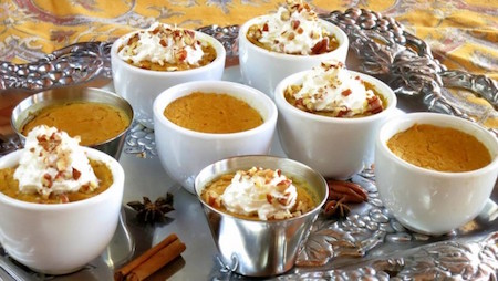 Instant pot pumpkin pies