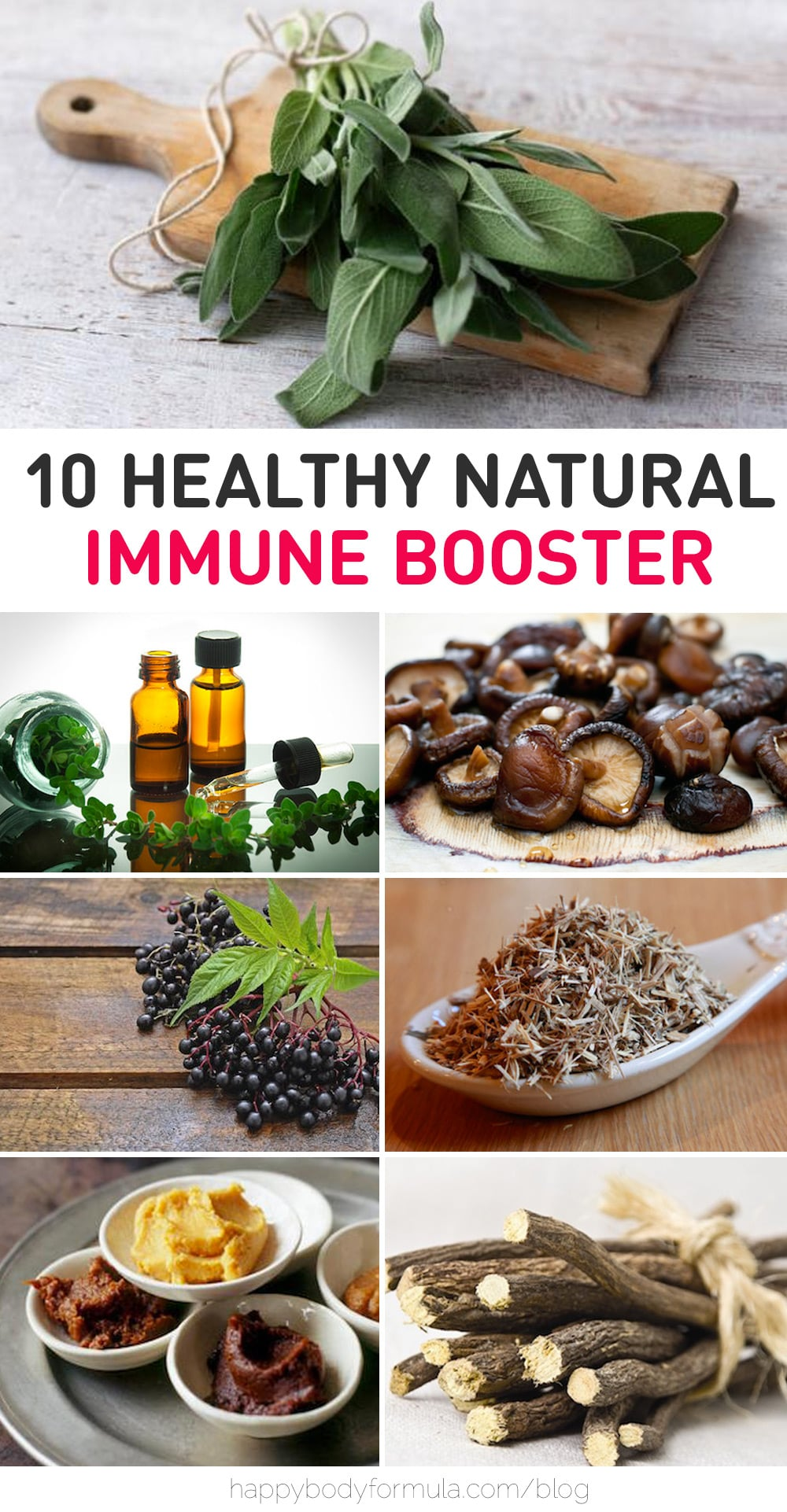 10 Natural Immune Boosters | Happybodyformula.com
