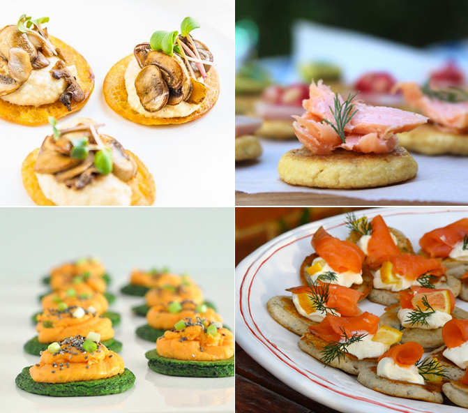 Healthy hors d oeuvres canap s round up happy body formula for Canape hors d oeuvres difference