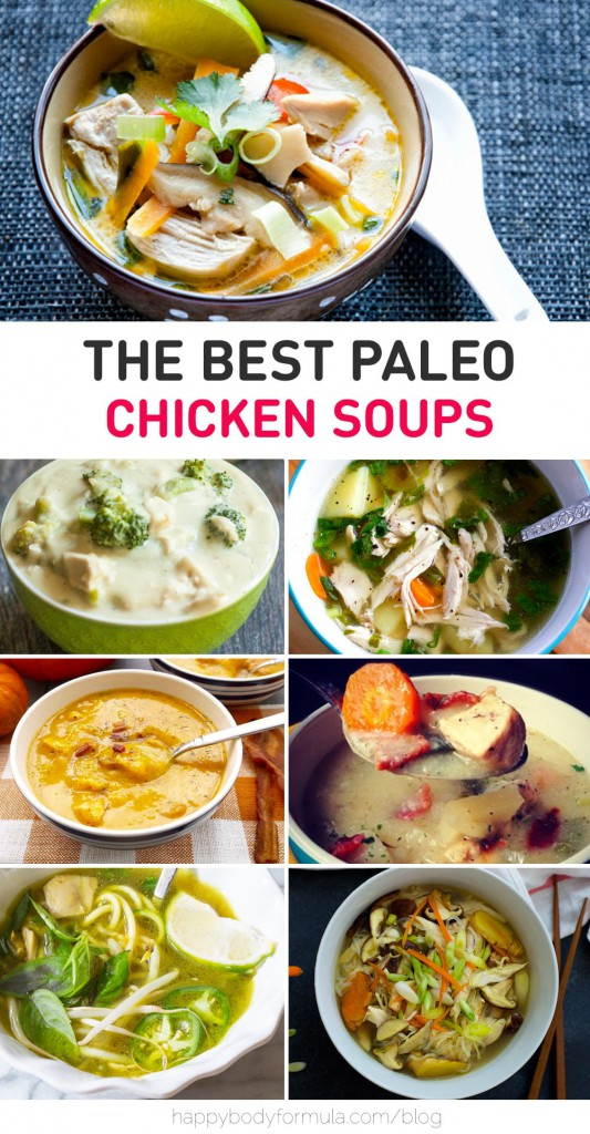 The Best Paleo Chicken Soups