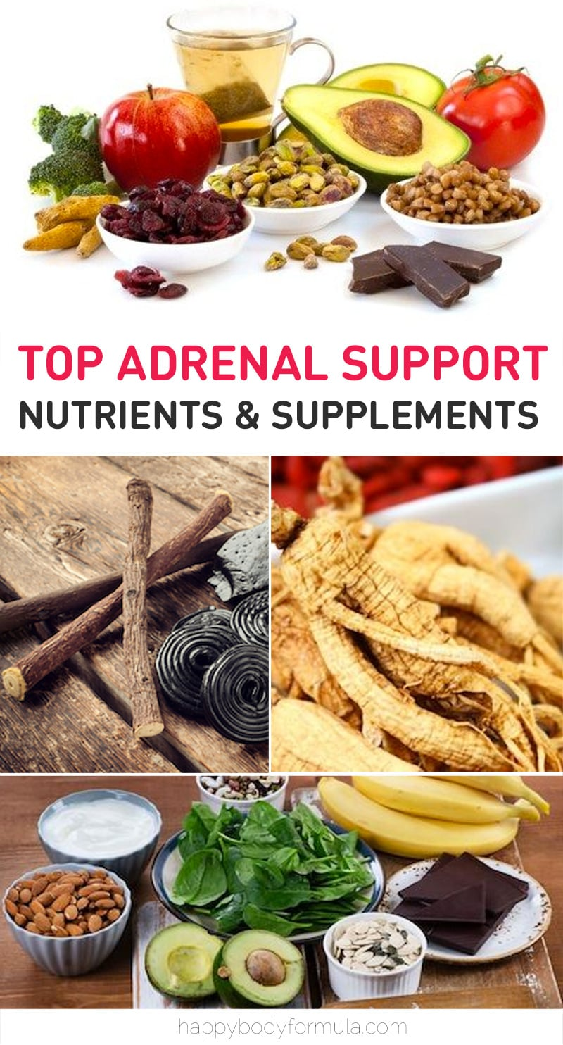 Top 10 Adrenal Support Nutrients & Supplements | Happybodyformula.com