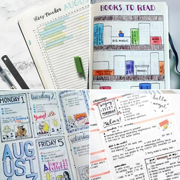 20 Inspiring Ways To Use Your Bullet Journal  - Happy Body Formula