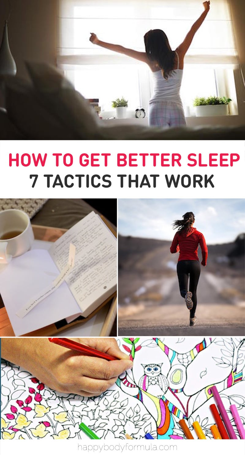 How to get better sleep - 7 tactics that actually work. Plus, get our FREE 7-Day Sleep Better eBook.