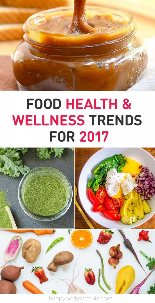 Food Health & Wellness Trends for 2017