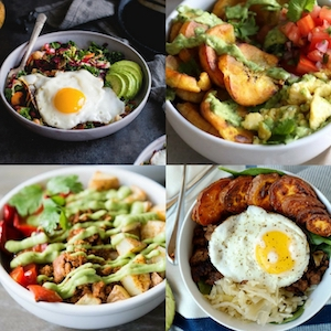 12 Nutritious Savoury Breakfast Bowls