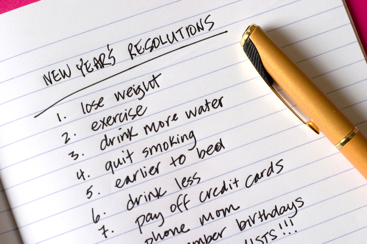 13 No-BS New Year's Resolutions You Should TotallySteal 13 No-BS New Year's Resolutions You Should TotallySteal new picture