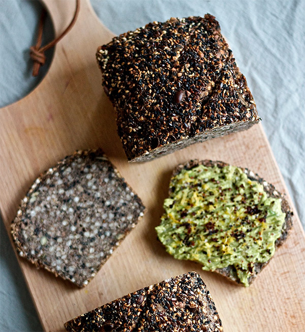 Seedy Buckwheat Bread