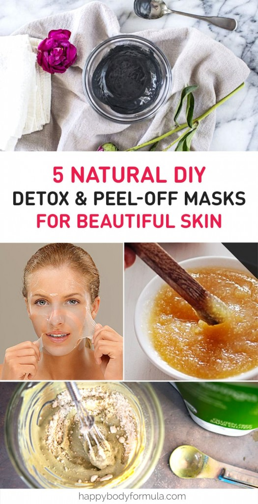 5 Natural DIY Detox & Peel Off Face Masks