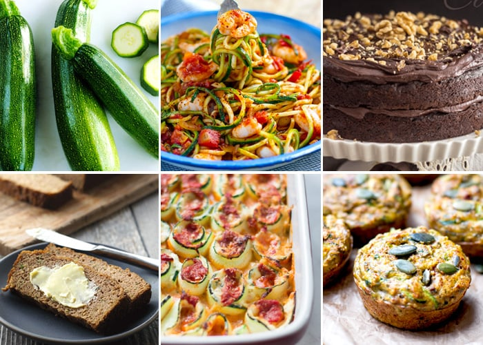 Top Paleo & Gluten-Free Zucchini Recipes