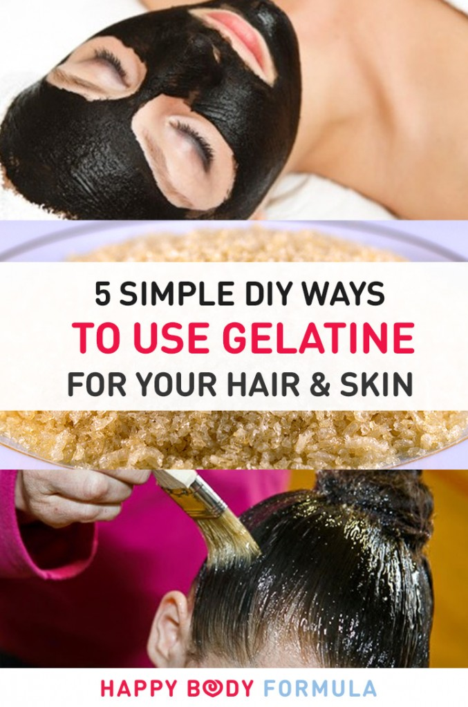 5 DIY Ways To Use Gelatin In Your Skin & Hair Routine