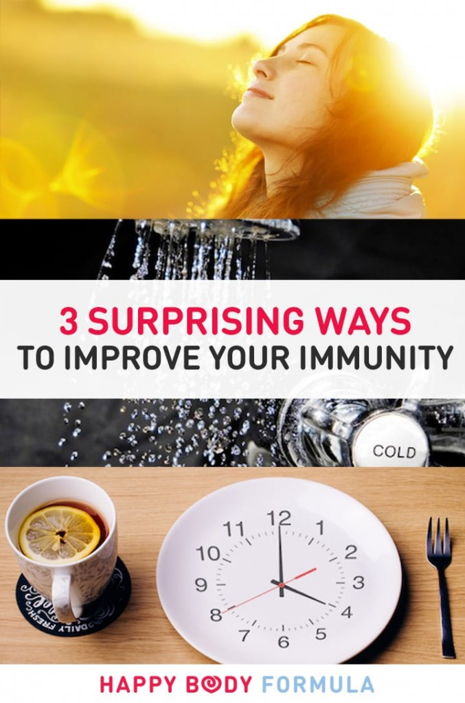 3 Surprising Ways To Improve Your Immune System