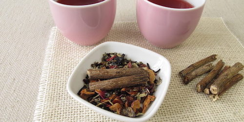 Traditional uses of licorice root