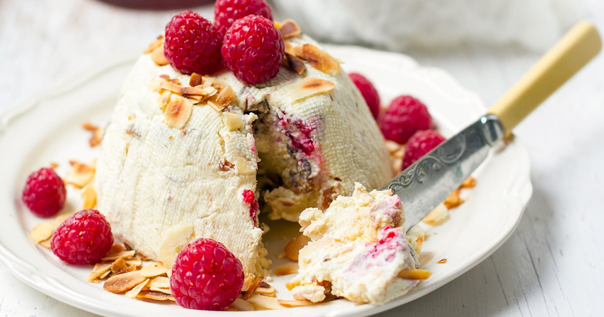 Must Try Easter Pashka with Ricotta & Raspberries