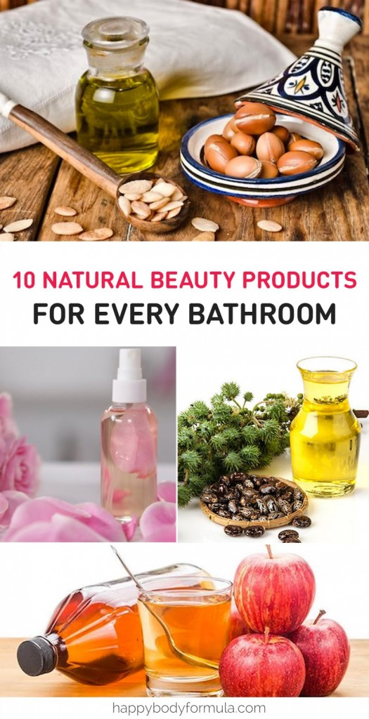 Top 10 Natural Beauty Products For Every Bathroom