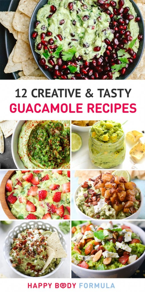 12 Unique & Creative Guacamole Recipes