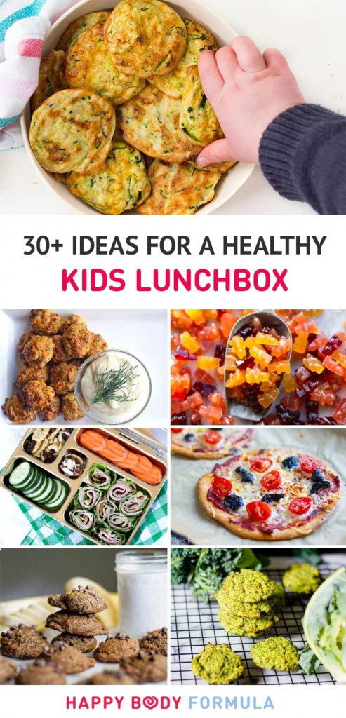 30+ Ideas For Healthy Kids Lunchbox Foods