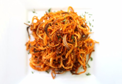 Spiralized Sweet Potato Recipes