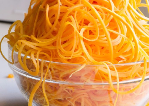Spiralized Butternut Squash Recipes