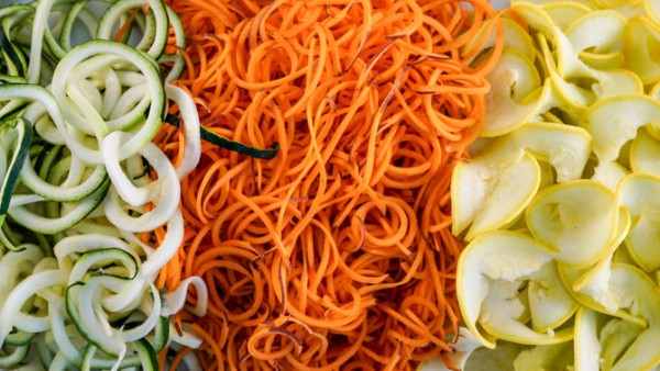 Veggie Spiralizer Ideas