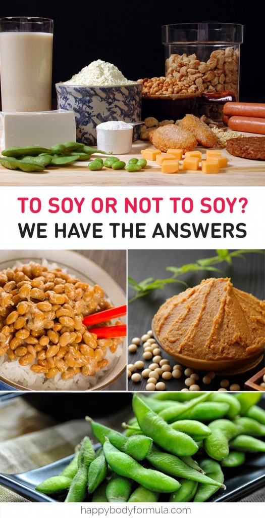 To Soy Or Not To Soy? That is The Question and We Have The Answers