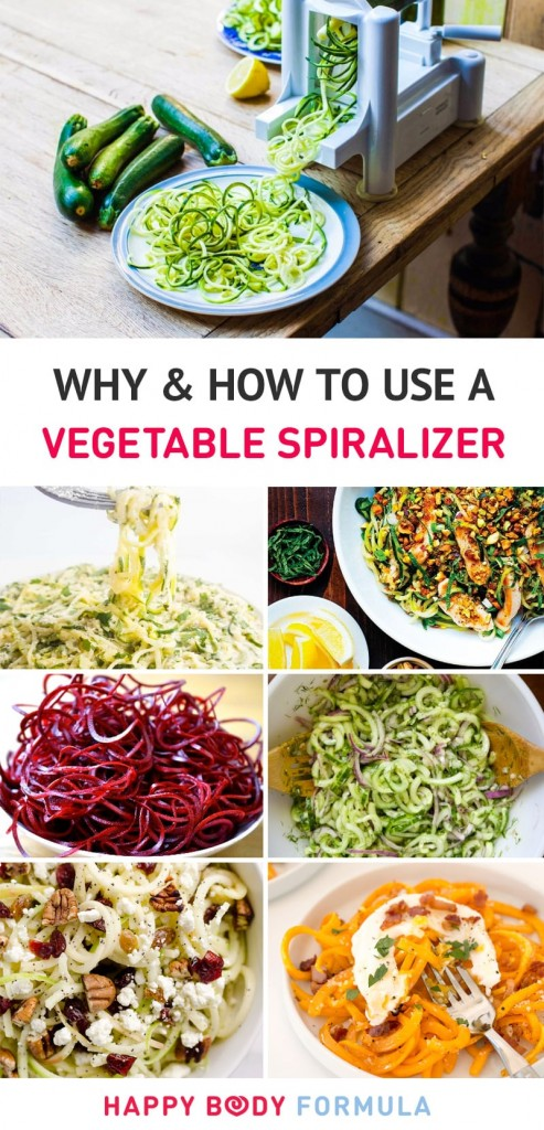 Vegetable Spirazlier - Why It's A Must-Have Gadget For Healthy Cooking And Different Ways To Use it (including recipe ideas)