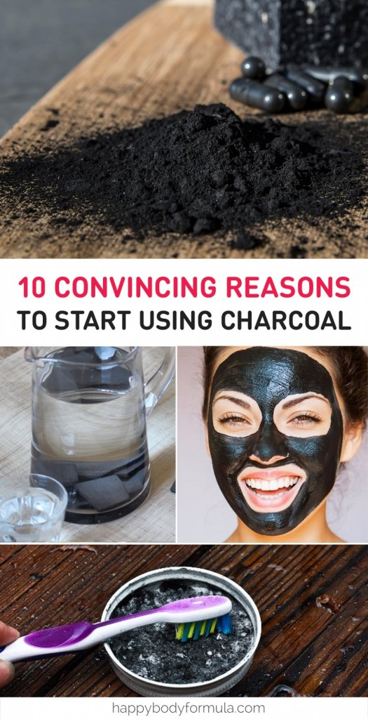 10 Convincing Reasons To Start Using Charcoal