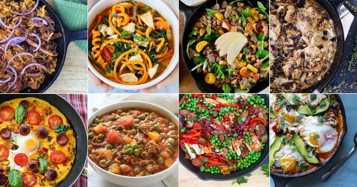 20 One-Skillet Meals That Are Healthy & Delicious