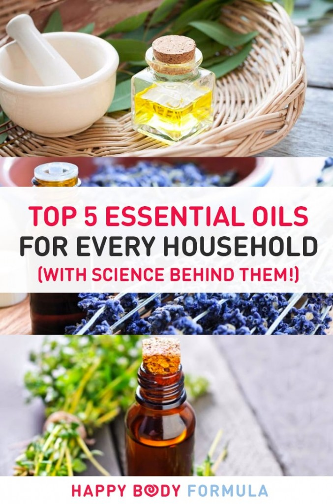 Top 5 Essential Oils For Every Household (with Science Behind Them!)