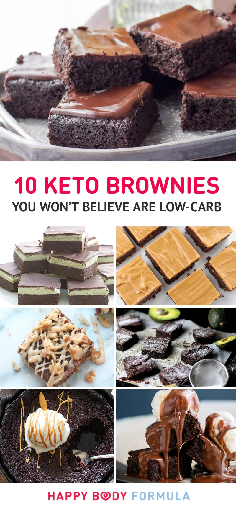 10 Keto Brownies You Won't Believe Are Low-Carb