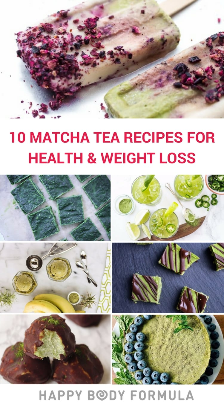 10 Matcha Recipes To Boost Your Health & Help With Weight Loss