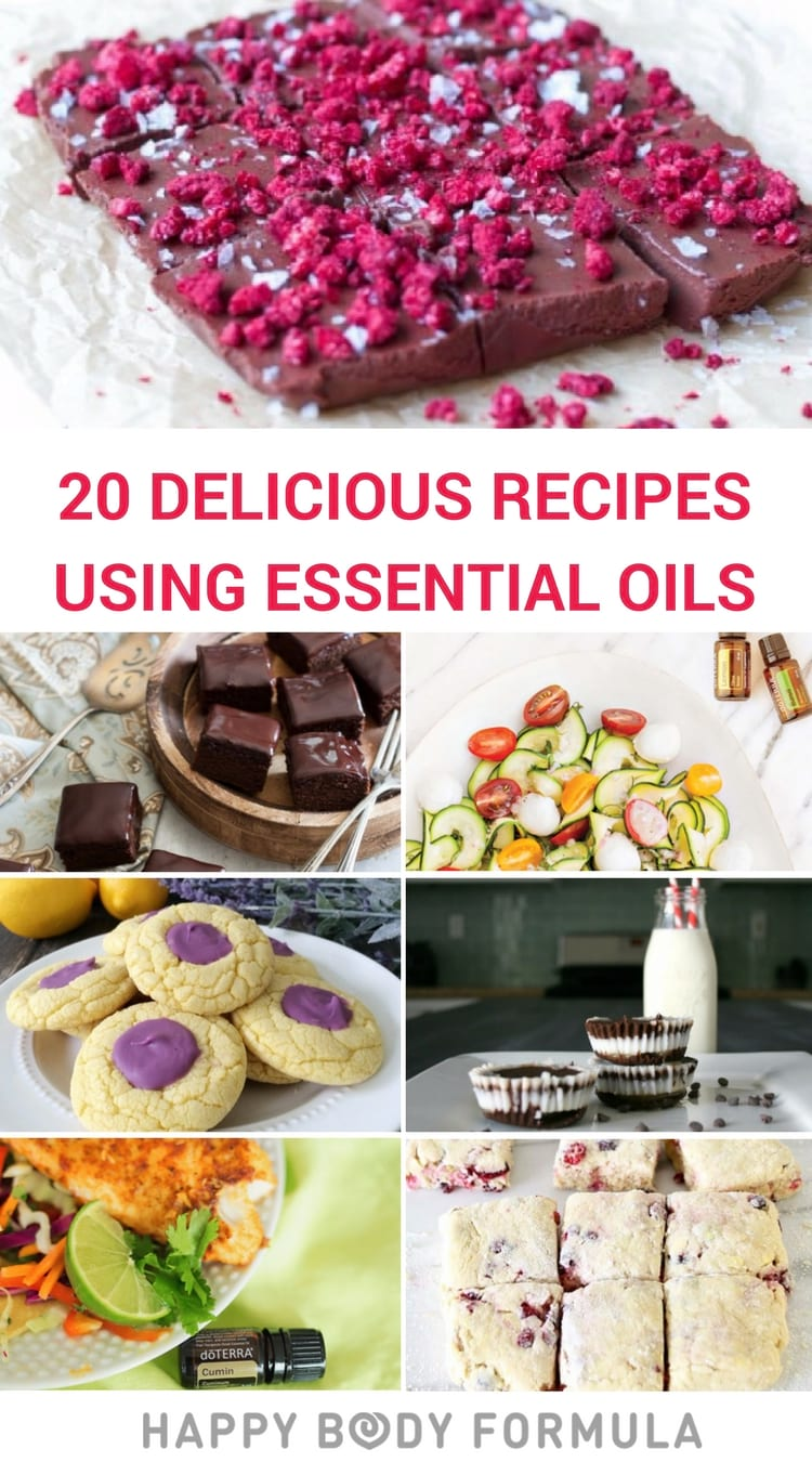 20 Delicious & Healthy Recipes Using Essential Oils