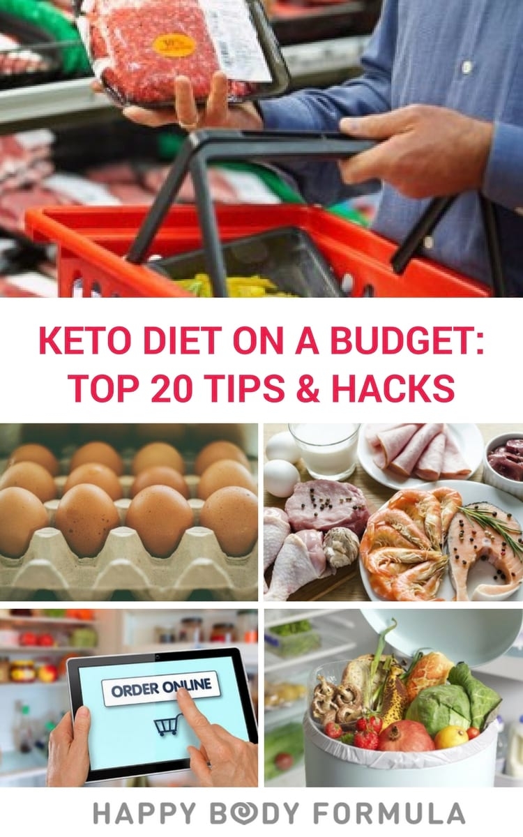Keto Diet On A Budget- Top 20 Tips & Hacks for Saving Money While Eating Low-Carb