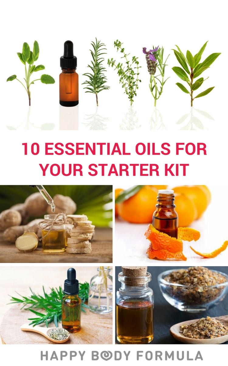 10 Must-Have Essential Oils For Your Starter Kit
