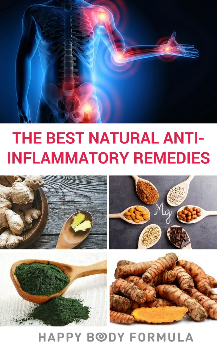 How to cure inflammation