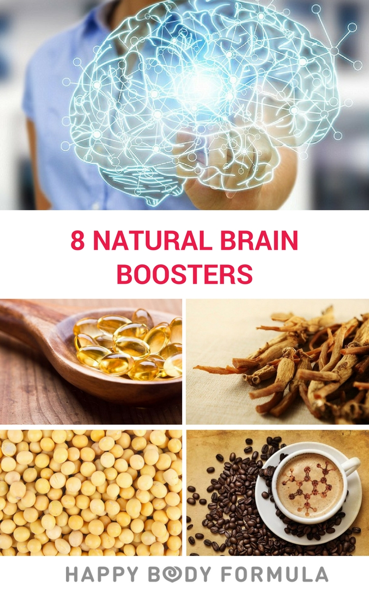 8 Natural & Effective Brain Boosters for Better Cognition